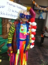 Clown mit Ballonmodellage